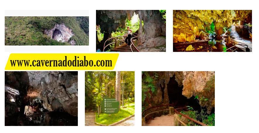 Foto da Caverna do Diabo Entrada