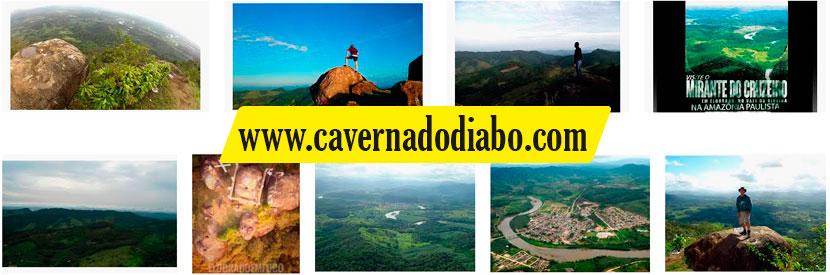 Mirante de Cruzeiro - Parque Caverna do Diabo