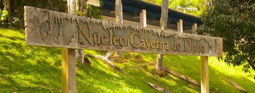Placa Núcleo Caverna do Diabo